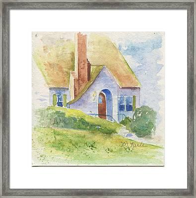 Storybook House Framed Print