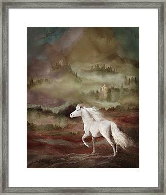 Storybook Stallion Framed Print