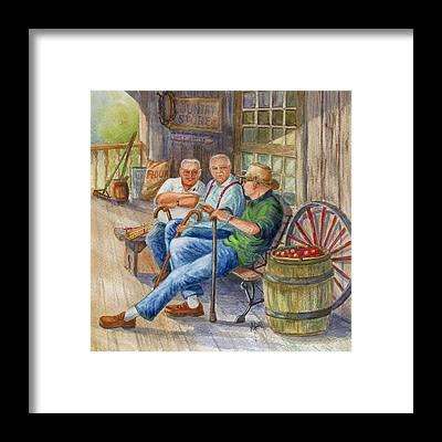 Storytellers Framed Prints