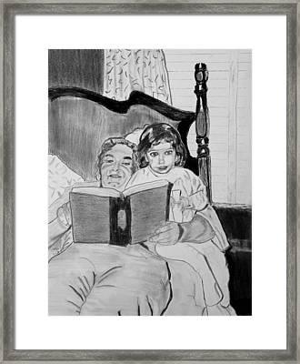 Storytime Framed Print