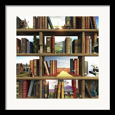 Book Framed Prints