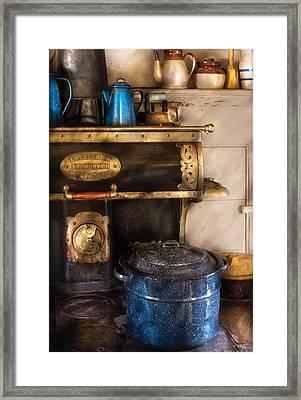 Stove - The Stove Framed Print