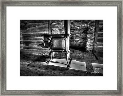 Stove Framed Print by Douglas Stucky