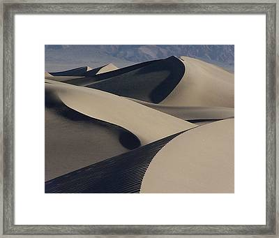 Stovepipe Morning Framed Print by David Woodruff