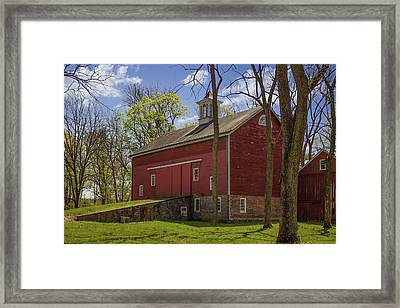 Stover Farm Framed Print by Capt Gerry Hare