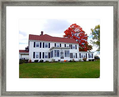 Stowe Farm Framed Print