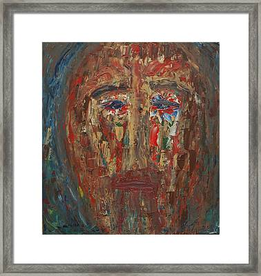 St. Peter Denies Christ For A Third Time Framed Print