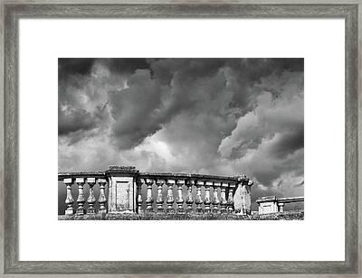 St.petersburg  #9704 Framed Print