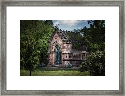 Strader Mausoleum Framed Print by Tom Mc Nemar