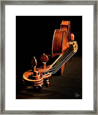 Stradivarius From The Top Framed Print by Endre Balogh