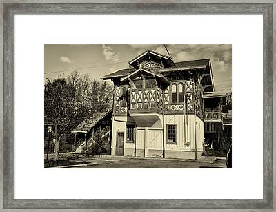 Strafford Station Framed Print