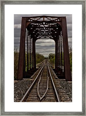 Straight And Narrow Framed Print