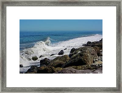 Framed Print featuring the photograph Strait Of Juan De Fuca by Tikvah's Hope