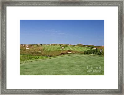 Straits No. 10 From The Tee Framed Print