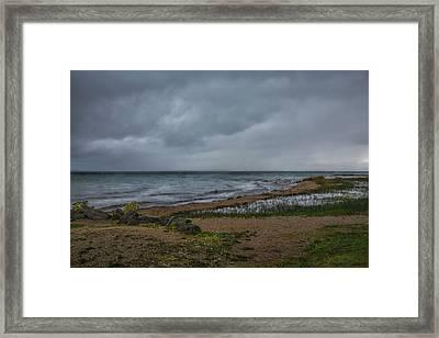 Straits Of Mackinac Framed Print