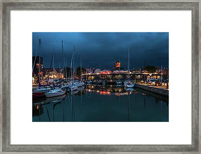 Stralsund At The Habor Framed Print