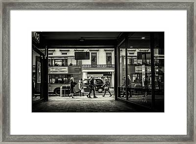 Framed Print featuring the photograph Strand by Stewart Marsden