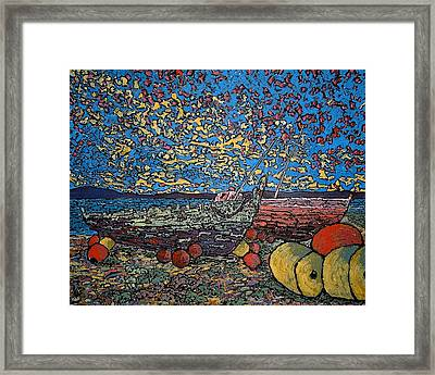 Stranded In St Andrews Nb Framed Print