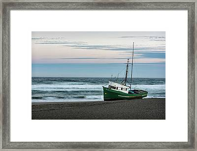 Stranded Framed Print by Jon Glaser