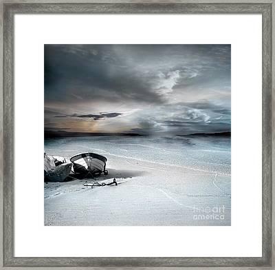Stranded Framed Print by Jacky Gerritsen