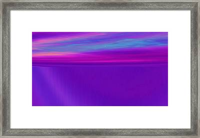 Strands Of Time Framed Print