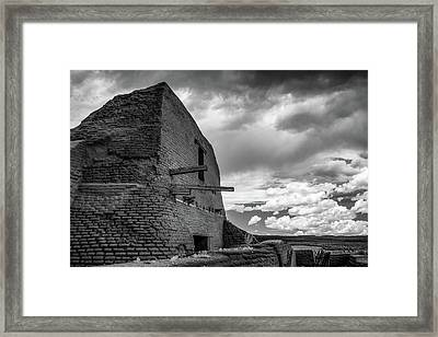 Framed Print featuring the photograph Strange Architecture by James Barber