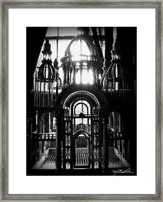Strange Cage Framed Print by Melissa Wyatt