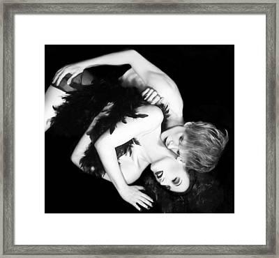 Strange Sensualistic Delight Framed Print by Jaeda DeWalt