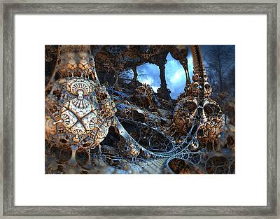 Strange Surroundings Framed Print