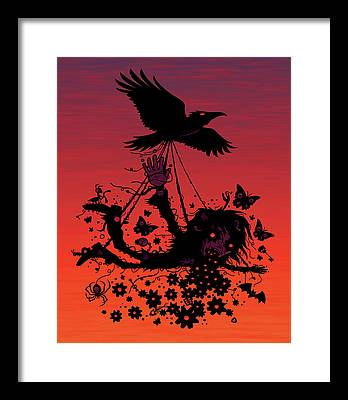 John Crow Framed Prints