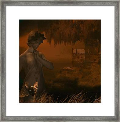 Strange World Framed Print by Ruben  Flanagan