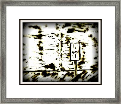 Stranger Lands 1 Framed Print by Mario Perron