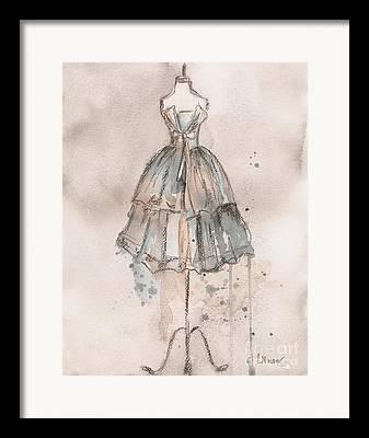 Loose Watercolor Framed Prints