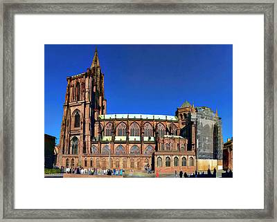 Strasbourg Catheral Framed Print