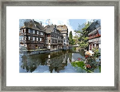 Strasbourg France  Framed Print by Elaine Plesser