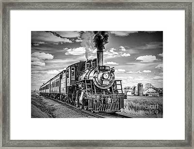 Framed Print featuring the photograph Strasburg Canadian National 89 by Nick Zelinsky