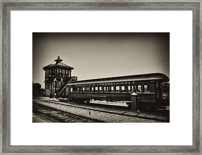 Strasburg Rail Road Framed Print by Bill Cannon