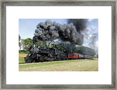 Strasburg Railroad Framed Print