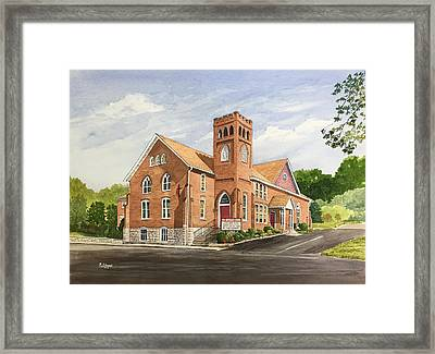 Strasburg United Methodist Church Framed Print