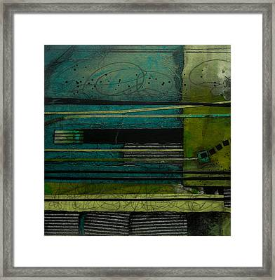 Strata No 1 Framed Print by Laura  Lein-Svencner