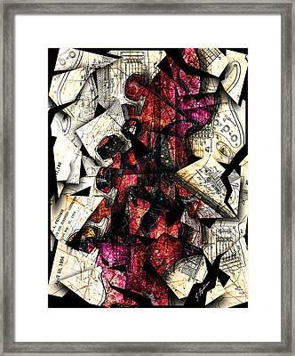 Stratavaria Moderna 01 Framed Print
