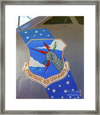 Strategic Air Command Framed Print