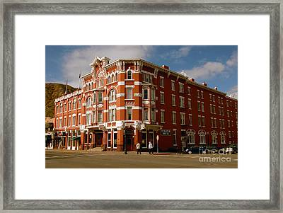 Strater Hotel 1887 Framed Print by David Lee Thompson