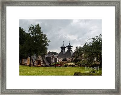 Framed Print featuring the photograph Strathisla Whisky Distillery Scotland #3 by Jan Bickerton
