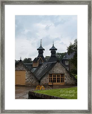 Framed Print featuring the photograph Strathisla Whisky Distillery Scotland #4 by Jan Bickerton