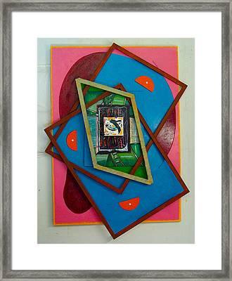 Stratified Tryptych Framed Print by Al Goldfarb