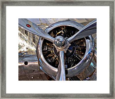 Stratoliner Engine - National Air And Space Museum Framed Print by Darin Volpe