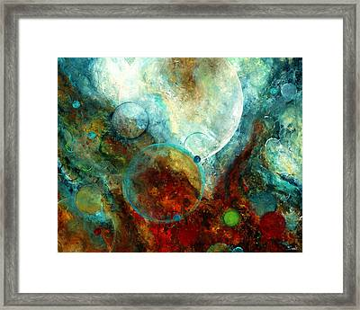 Stratos Framed Print by Laura Swink