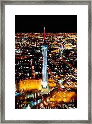 Stratosphere Zoom Framed Print