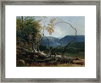 Stratton Notch - Vermont Framed Print by Asher Brown Durand